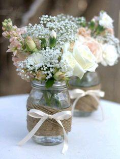8 Beautiful Centerpieces Using Glass Jars | trends4everyone