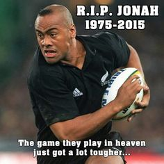 A great legend gone too soon R.P Jonah Lomu Sport Gymnastics, Olympic Gymnastics, South Africa Rugby Team, Rugby Memes, Steve Hansen, Jonah Lomu, Australian Football, Australian Rugby League, American Football