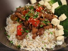 Bob Lung, Chinese Food, Tofu, Good Food, Food And Drink, Healthy Eating, Salads, China Food, Eating Healthy