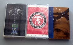 Queensryche Lot 3 Cassette Tapes Empire Rage for Order Jet City Woman Metal Rock