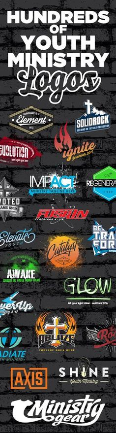 Youth Group Logos by Ministry Gear