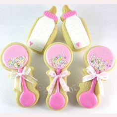 Baby shower cookies, baby cookie cutters, baby shower cookie decorating