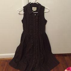 ☺️ Make me an offer! Kate spade dress Kate spade brown eyelet dress. Mid-calf length. New with tags! kate spade Dresses