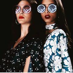 166 ακόλουθοι, ακολουθεί 123, 59 δημοσιεύσεις - Δείτε φωτογραφίες και βίντεο στο Instagram από το χρήστη Eye-Q Optical Stores (@eyeq_opticalstores) Trending Sunglasses, Round Sunglasses, Fendi Eyewear, Spring Summer 2018, Sunnies, Shades, Colorful, Logo, Style
