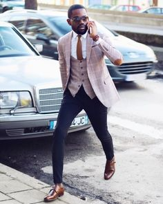 20 Fashionable Outfits Ideas for Men is part of Mens fashion inspiration - As a man do feel confused or intimidated whenever you are stepping out because you do not know how to dress well or get the right outfit for your out… Mens Fashion Blazer, Mens Fashion Blog, Suit Fashion, Fashion Outfits, Fashion Tips, Fashion Boots, Fashion Sale, Cheap Fashion, Work Fashion