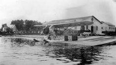 Hydravion CAVR au Quai des Anglais à Roberval vers 1931-1932