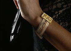 Gaia Flora Eco Friendly Fashion Bracelet from WildBerryEcoJewelry made of banana fiber and plates. $33.95