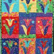 Seriographic+Tulips+Fat+Quarter+Pattern+-+via+@Craftsy