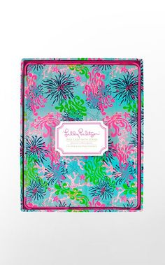 ipad case to accompany new ipads I bet many people will receive for Christmas!  # Ultimate Lilly Holiday