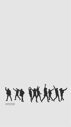 EXO Call Me Baby Silhouette   cr: ggaeal.tumblr.com