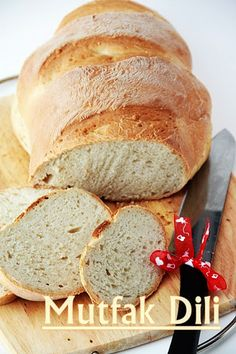 ✿Mutfak Dili ✿: Ev Ekmeği ... Breakfast Items, Turkish Recipes, No Bake Cake, Bread Recipes, Banana Bread, Food And Drink, Snacks, Chocolate, Cooking