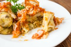 Vegan Cabbage Rolls with Couscous, Lentils, and a Medley of Vegetables - The Cookie Writer