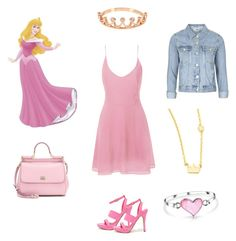 """""""Sleeping Beauty in high school"""" by cyphertbethany on Polyvore"""
