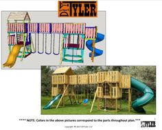 How to build an wooden swing set for the backyard that your kids will love and will be the talk of the town. World's greatest swing set!