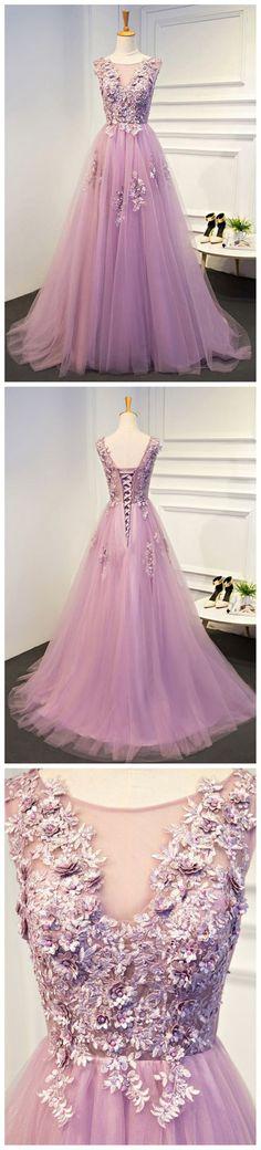 Lilac Prom Dress,Sweetheart Prom Dress,A-line Dress ,Cheap Prom