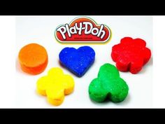 Play Doh shapes surprise Frozen Angry Birds Hello Kitty Little Pet Shop ...