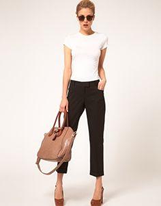 ASOS Slim Cropped Ankle Grazer Pants  $54.54