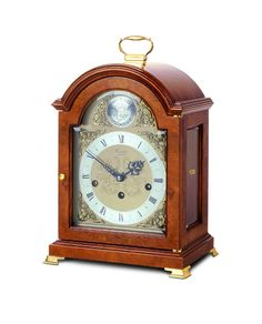 C4210tch - Comitti Of London Georgian Break Arch Mantel Clock