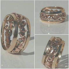 Tree of life band ring