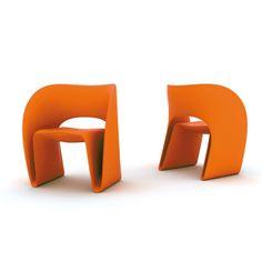Magis Sessel Raviolo, orange. #Magis #artvoll #TopMarke www.artvoll.de