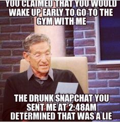 Going to the gym ... Pick your buddy wisely lol