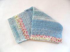 Neck Warmer - Baby Blue Multicolour Neck Warmer, Baby Blue, Knitted Hats, Knitting, Fashion, Moda, Tricot, Fashion Styles, Breien