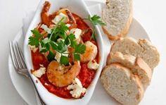 Griekse garnalen met feta | Weekmenu