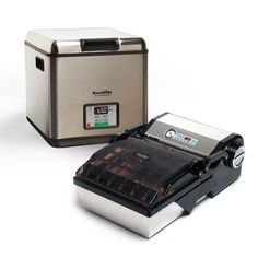SousVide Supreme and ChamberVac Bundle - The SousVide Supreme ChamberVac® VP112 vacuum sealer allows you to vacuum seal and package anything - including liquids and liquid-rich foods, a feat that other standard vacuum sealers are not able to perform. It works like magic!