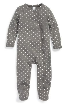 Free shipping and returns on Nordstrom Baby One-Piece (Baby) at Nordstrom.com. A cozy cotton one-piece breathes easily so baby stays comfy.