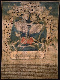 Chitipati. Tibet. Tibet  1700 - 1799  Sakya Lineage