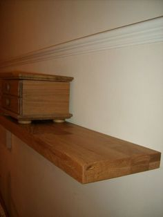 Oak Floating Shelves / Shelf. Many Sizes + Made To Measure, Handcrafted