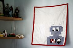 Zak the Robot Quilt Tutorial by Vanessa Brady from Tried & True