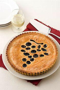 Pie con gelatina di uva fragola La torta con gelatina di uva fragola è un ottimo dessert, ideale per la stagione autunnale