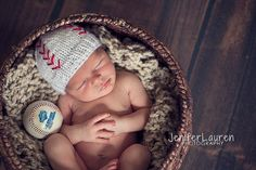 Little Baby Baseball Hat Beanie              by LiLWhimsiesForBaby, $15.00
