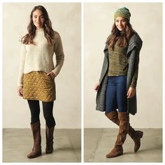 #pranasneakpeek  Fall Collection launches Aug 4  Pictured: Cedric Sweater Diva Skirt - Annina Turtleneck Thalia Sweater Vest (Fair Trade) Tamyra Beanie Kara Jean (organic)  #fall #winter #womensfashion #organic #fairtrade via @prAna Instagram. Don't follow us yet? Add us any time by going to: instagram.com/prAna