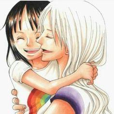 Nico Robin - Nico Olvia ~ one piece Nico Robin, Zoro And Robin, Monkey D Luffy, One Piece Manga, One Piece Robin, Kawaii, My Little Pony, Manga Anime, Anime Chibi
