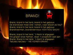 Bránd! Versje voor kinderen, thema brandweer