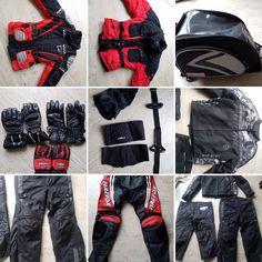 Diverse motorkleding #tekoop #aangeboden in de groep van #Motortreffer (zie: www.facebook.com/groups/motorentekoopmt) #motorentekoopmt #motorjas #motorbroek #motorhandschoenen #tanktas #motorkleding