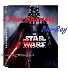 Wars Complete Saga Blu Ray