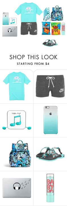"""Day 5: Part 2. Plane ride back home 🏡 contest entry-last set"" by harleen7177 ❤ liked on Polyvore featuring Southern Tide, NIKE, Happy Plugs, Vera Bradley, Chaco, Music Notes, Maybelline, Intelligent Design and Brianasfallbreakcontest"