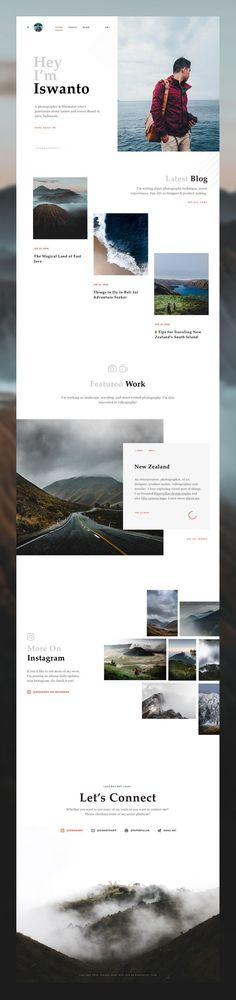 A Website Creation Guide For Creating Spectacular Compelling Websites Travel Website Design, Website Design Layout, Web Layout, Layout Design, App Design, Minimal Web Design, Modern Web Design, Website Design Inspiration, Ui Web
