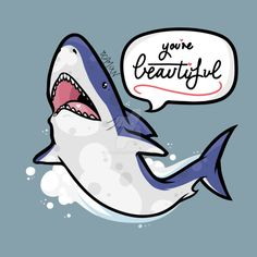 Image result for easy how to draw a shark