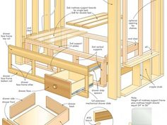 Wooden Dresser Woodworking Plans DIY blueprints Dresser woodworking plans Find an exhaustive list of hundreds of detailed woodworking plans for your wood Full Size Plan Shaker Chest of