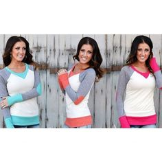 aca0d646f3 These sweaters are a favorite!! So cute and they have the perfect pop of  color to rid those winter blues!! Only  19.99 with 3 colors to choose from!!