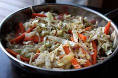Warm Cabbage Salad with Carrots and Thyme