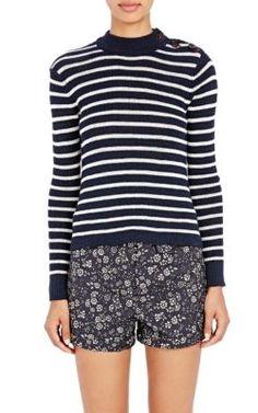 Isabel Marant Étoile Striped Erwan Sweater at Barneys New York
