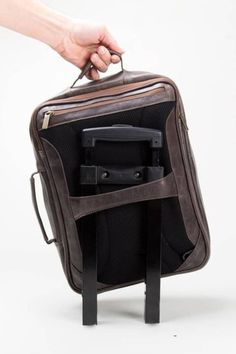 All our bags have a special sleeve to attach your bag to your baggage's handle. Much more handy!! Find out more at www.inmoleatherbags.com    leather backpack men brown laptop bags, leather backpack men handmade, mochila de cuero para hombre, travel backpack for men carry on, leather backpack men vintage.    #INMO #Backpack #BagsAndLuggage #Mochila #Leatherbags #TravelBag Leather Backpack For Men, Leather Bag, Travel Backpack, Travel Bags, Passport Holders, Laptop Bags, Dark Brown Leather, Toiletry Bag, Duffel Bag