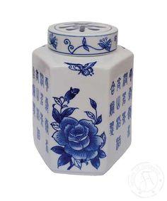 Hexagonal Tea Caddy