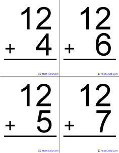 117 Best MATH~FACT FLUENCY images   Kindergarten math, School ...