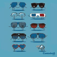 Camiseta Everybody loves glasses!. http://cami.st/p/1772